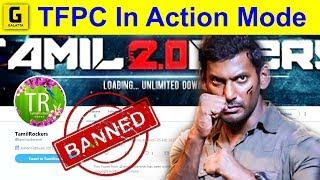 'Tamilrockers Suspended' TFPC In Action Mode | Kaala Piracy | Vishal | Rajini