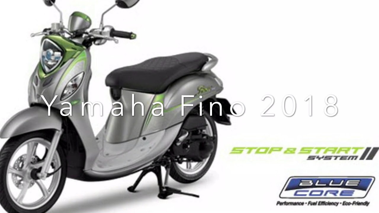 yamaha fino 125i 2018 youtube