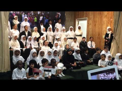 sing children of the world by alhuda kids 2014