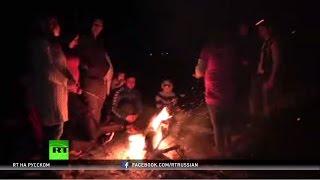 Более 6 тысяч беженцев осаждают границу Македонии