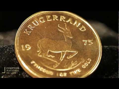 Krugerrand en Or - Comptoir National de l'Or (Gold.fr)