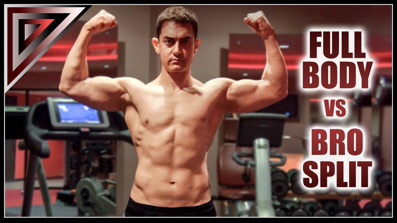 How I trained Aamir Khan -- Full Body Workout vs Bro Split