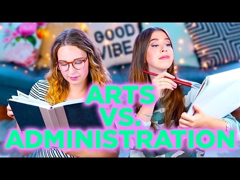 NOS PARCOURS SCOLAIRES - ARTS VS. ADMINISTRATION | 2e peau