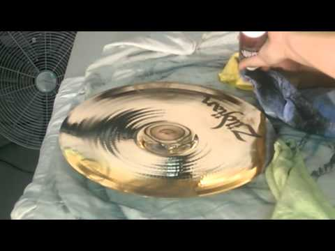 How to clean cymbals(Cymbal cleaning tutorial)