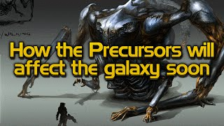 How the Precursors will affect the galaxy soon