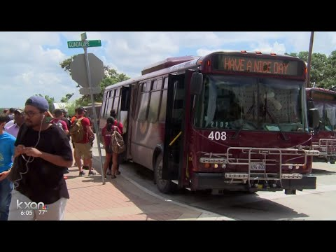Texas State launches weekend shuttles that bring students to Dallas, Houston