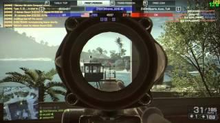 Battlefield 4 - Spectating a Hacker #1 (Aimbot)