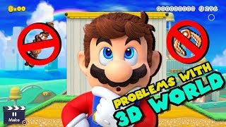 The BIGGEST PROBLEMS With The 3D World Style In Mario Maker 2!!!