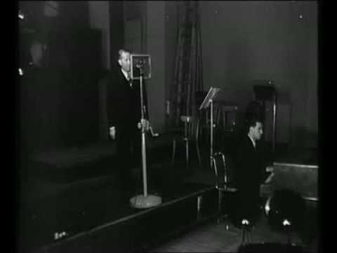 Maurice Chevalier chante au micro de Radio-Paris (septembre 1941)