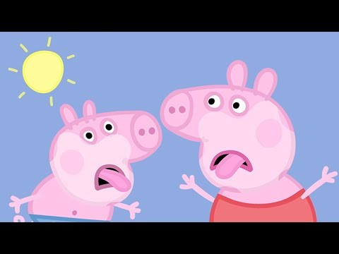 Peppa Pig in Hindi - Very Hot Day - Garmi ka Din