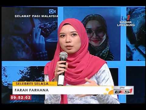 SPM – SELEBRITI SELASA BERSAMA FARAH FARHANA [27 SEPT 2016]