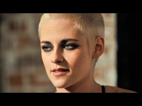 What Did Kristen Stewart Do to Her HAIR? She's Nearly BALD?!