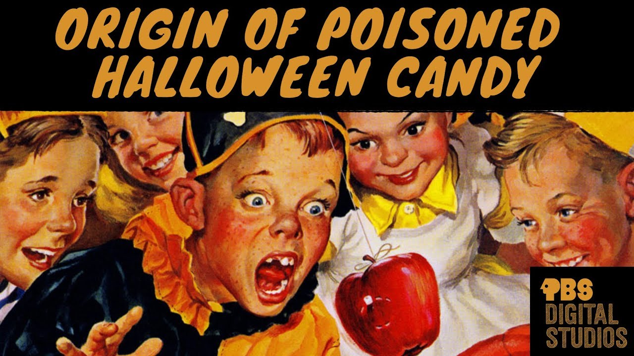 is poisoned halloween candy a myth? - youtube