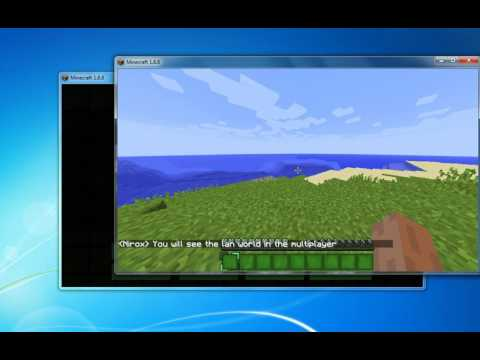 How to join a players world in minecraft pc
