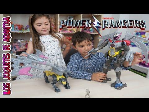 Unboxing de Juguetes Power Rangers de Saban