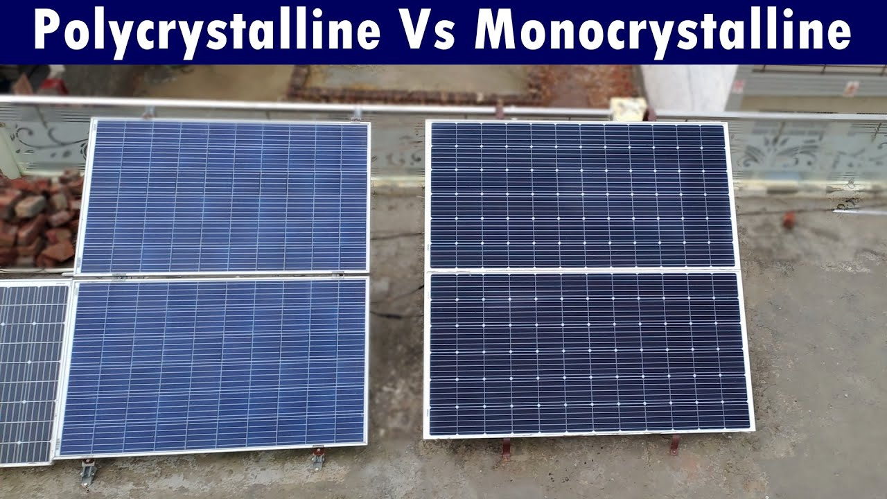 Difference Between Monocrystalline And Polycrystalline
