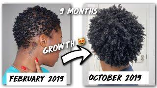 Baixar REALISTIC Hair Growth Tips // TWA → Mini Fro