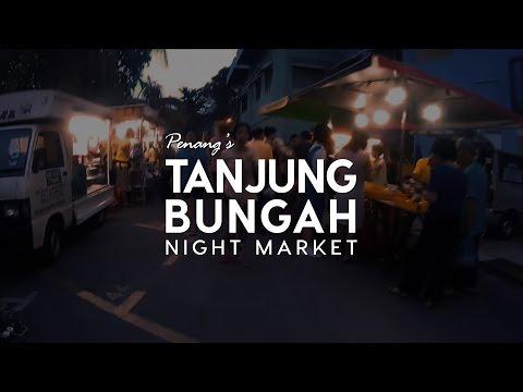 【丹绒武雅夜市 Tanjung Bungah Night Market】Food Vlog(中文字幕)