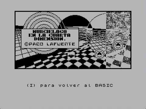 Demo murciélago ZX Spectrum