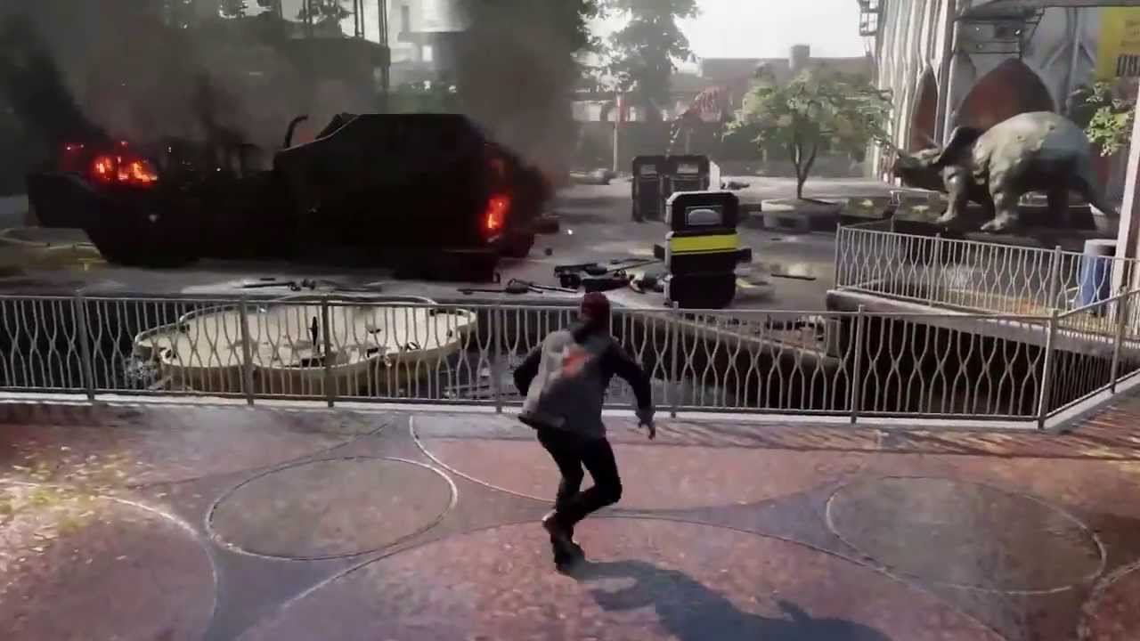 infamous second son gameplay ps4 hd youtube. Black Bedroom Furniture Sets. Home Design Ideas