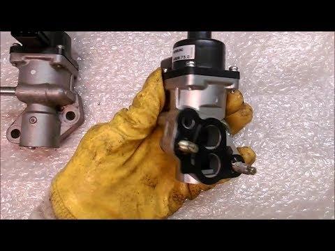 Как проверить клапан егр форд фокус 2