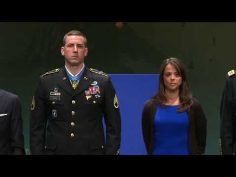 Hall of Heroes Ceremony for Ryan M. Pitts (Full Version)
