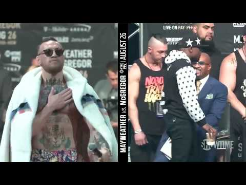 Thumbnail: Mayweather vs McGregor World Tour: New York Press Conference Highlights