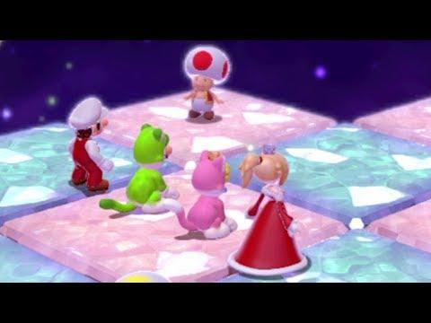 Super Mario 3D World 100% Walkthrough - World Crown (4 Players)