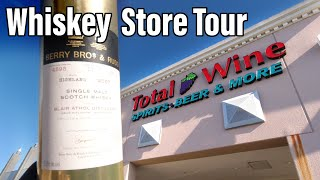 Whisky Store Tour - Total Wine…