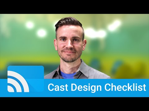 UX Design for Google Cast