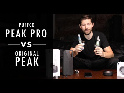 Highly Recommended: Puffco Peak VS Puffco Peak Pro Review