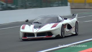Ferrari FXX K in Action - BRUTAL Sounds!!