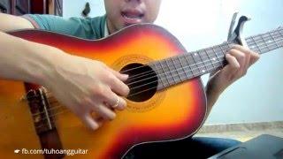 [Guitar] Hướng Dẫn chơi INTRO - FADED (Alan Waker)★Tú Hoàng Guitar★