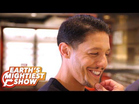 BONUS: Theo Rossi gets shady for Marvel's Luke Cage Season 2!  Earth's Mightiest