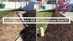 How to Create a Flower Bed- 5 Steps to a Flower / Tree Bed