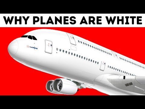 Why Airplanes Are White