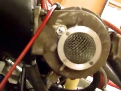 ENGINE TEST ALFA ROMEO GTA-SA  ( motore sovralimentato)