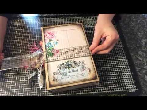 Shabby N Chic Journal DT Project Ephemera's Vintage Garden