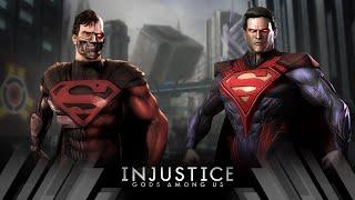 Injustice Gods Among Us - Cyborg Superman Vs Superman (Very Hard)