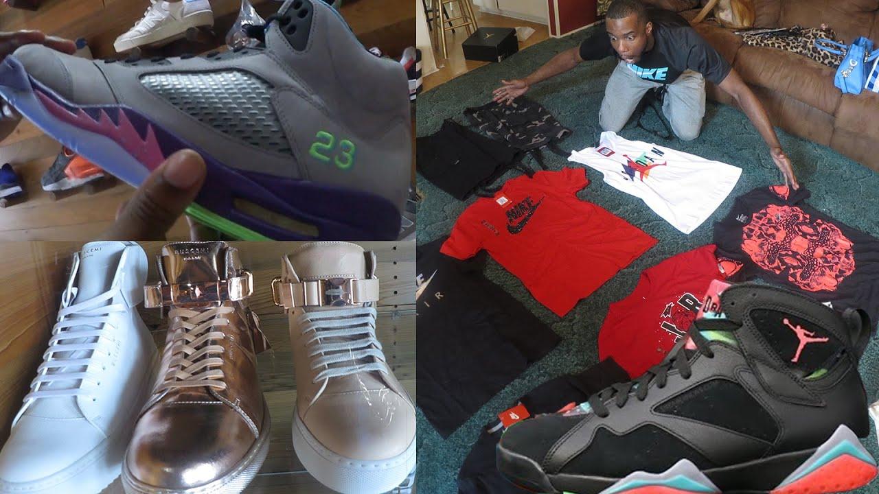 265f057db5337d NEW Jordan Martian 7 s! Nike Shirts Jordans! Best Jordan Retro Place!  SneakerHead Shopping Vlog Ep.5