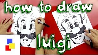 How To Draw Luigi