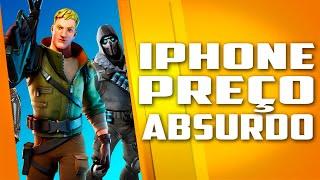 iPhone com Fortnite sendo VENDIDO por preços ABSURDOS e mais de Apple x Epic