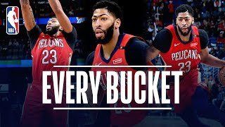 Every Bucket From Anthony Davis' Back-To-Back 40-Point Games!