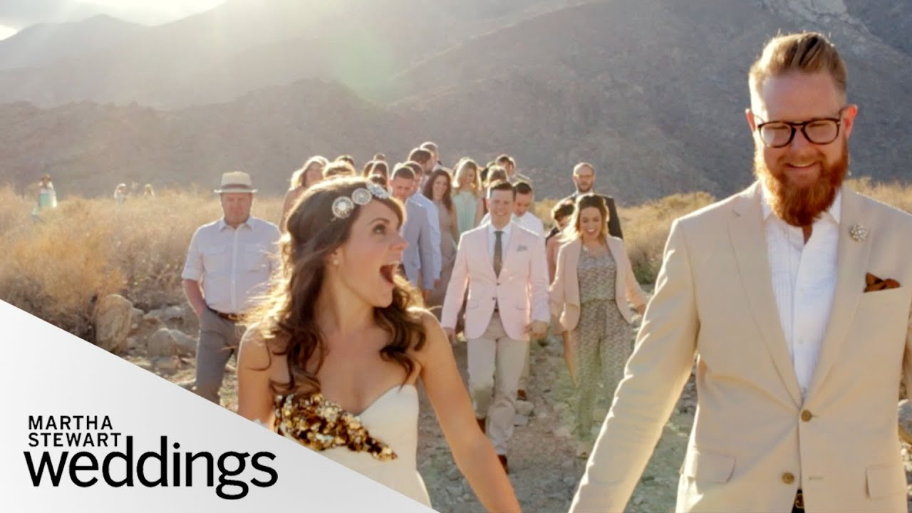 Edyta And Jared's Intimate Desert Real Wedding