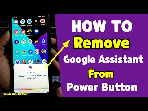How To Remove Google Assistant From Power Button || Google Assistant Custom Functions On Realme