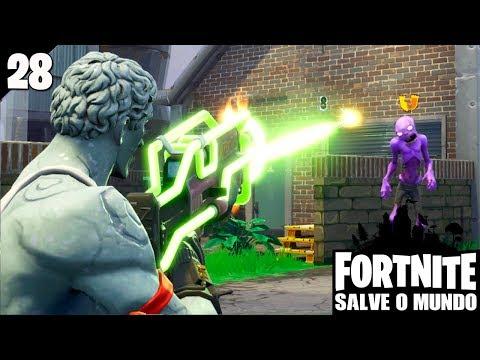 FORTNITE SALVE O MUNDO #28 - Armas de Neon