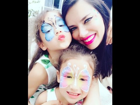 Adriana Lima with daughters, So Lovely