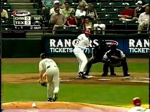 2000 White Sox @ Texas