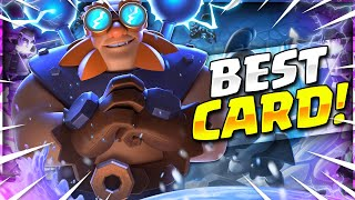 THE #1 CARD IN CLASH ROYALE NOW!! NEWEST ELECTRO GIANT DECK!!