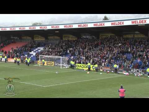 Inverness Caledonian Thistle Fans, The Pride Of The Highlands (The Remix)